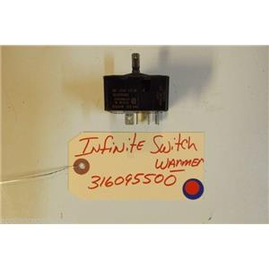KENMORE STOVE 316095500 Infinite Switch warmer USED PART