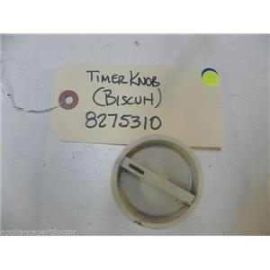 WHIRLPOOL DISHWASHER 8275310 BISCUIT TIMER KNOB USED PART ASSEMBLY