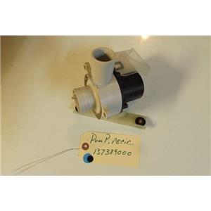FRIGIDAIRE WASHER 137389000     Pump,recirculation USED