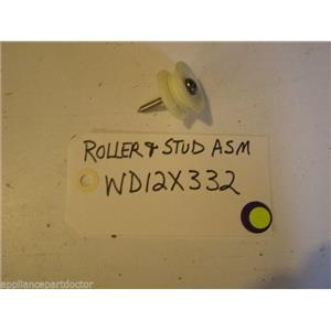 GE Dishwasher WD12X332  Roller & Stud used part