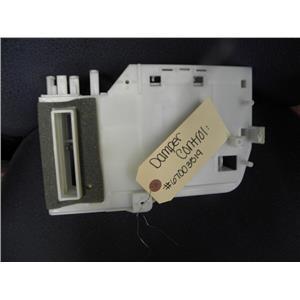 AMANA SIDE/SIDE REFRIGERATOR 67003519 DAMPER CONTROL USED PART ASSEMBLY