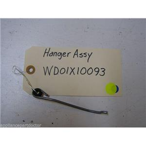 GE DISHWASHER WD01X10093 MECH HANGER USED PART ASSEMBLY