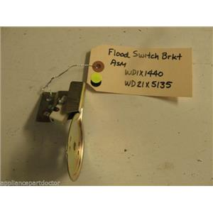 HOTPOINT DISHWASHER WD1X1440 WD21X5135 FLOOD SWITCH BRKT USED PART ASSEMBLY F/S