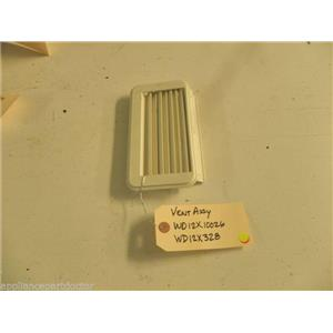 GE DISHWASHER WD12X10026 WD12X328 VENT USED PART ASSEMBLY