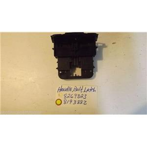 WHIRLPOOL DISHWASHER 8269323  8193882  Handle, Bolt, Latch  USED PART