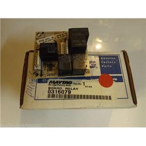 Maytag Stove  0316079  Board Relay  NEW IN BOX