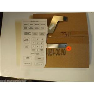 Samsung Microwave  DE34-00049D  Touch Pad Membrane NEW IN BOX