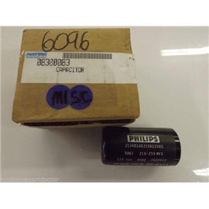 Maytag KithchenAid Garbage Disposer  08300083   CAPACITOR   NEW IN BOX