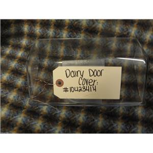 KENMORE 2 DOOR REFRIGERATOR 10423414 DAIRY DOOR COVER USED PART ASSEMBLY