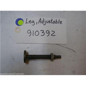 Maytag Dishwasher 910392 Leg, Adjustable used part assembly