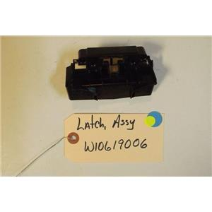 WHIRLPOOL DISHWASHER  W10619006 Latch USED