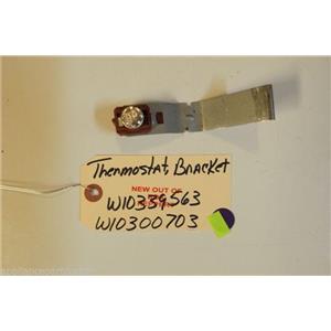 MAYTAG DISHWASHER W10339563  W10300703  Thermostat, bracket  NEW W/O BOX