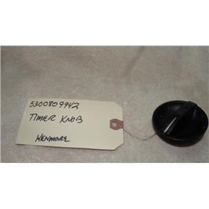 WHIRLPOOL SEARS KENMORE DISHWASHER 5300809942 TIMER KNOB BLACK USED