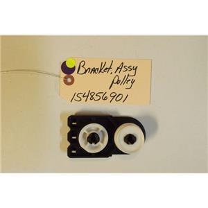 ELECTROLUX DISHWASHER  154856901 Bracket Assembly,pulley   USED