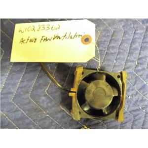 MAYTAG WHIRLPOOL WASHER W10283362 ACTIVE VENTILATION FAN USED PART ASSEMBLY F/S