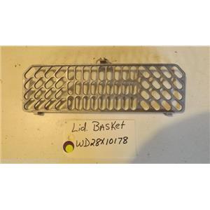GE Dishwasher WD28X10178 Lid Basket used part