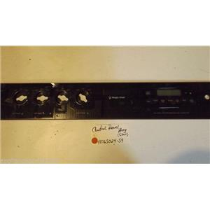 MAGIC CHEF  STOVE 4876S024-59 Control Panel Assy (glass) USED