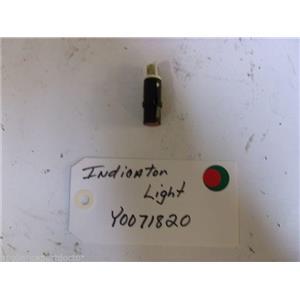 Amana STOVE Y0071820 Indicator Light  USED PART