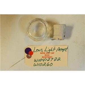 MAYTAG STOVE W10412722    W10260    Lens, Light  recepticle    NEW W/O BOX