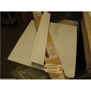 REFRIGERATOR WR71X2479  WR71X10759  SHELF FRONT WH  NEW IN BOX