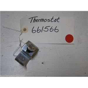 KENMORE DISHWASHER 661566 THERMOSTAT USED PART ASSEMBLY