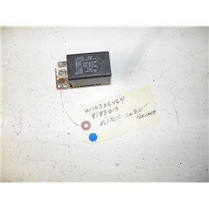WHIRLPOOL WASHER W10326464 8183019 INTERFERENCE FILTER USED PART ASSEMBLY F/S