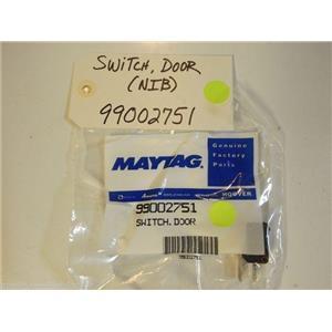 Maytag Amana Dishwasher  99002751  Switch, Door NEW IN BOX