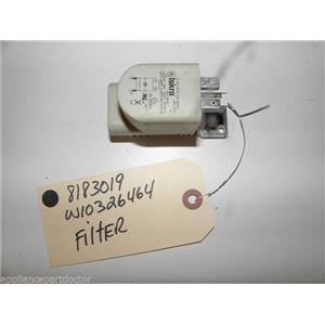 KENMORE WASHER 8183019 W10326464 FILTER USED PART ASSEMBLY FREE SHIPPING
