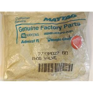 Maytag Magic Chef Gas Stove  7733P027-60  Knob Valve   NEW IN BOX