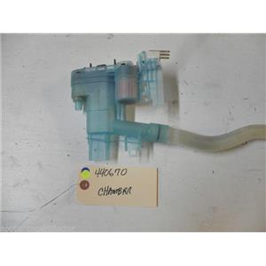 BOSCH DISHWASHER 4400670 CHAMBER USED PART ASSEMBLY