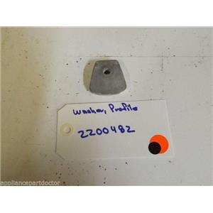 MAYTAG WASHER  22002482  Washer, Profile  used part
