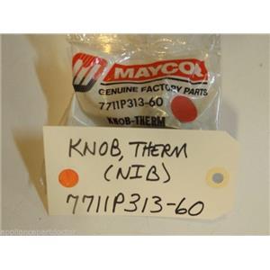 Maytag Magic Chef  Stove  7711P313-60  Knob Therm  NEW IN BOX