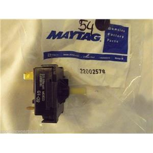 MAYTAG WASHER 22002578 Switch, Speed (rotary)   NEW IN BOX
