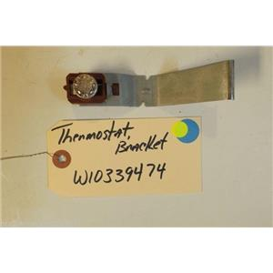 WHIRLPOOL DISHWASHER  W10339474 Thermostat, bracket  USED