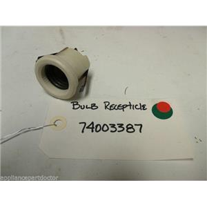 MAYTAG STOVE 74003387 BULB RECEPTICLE used part