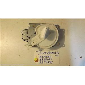 KENMORE DISHWASHER 3379501 3378124 3379291 timer used part