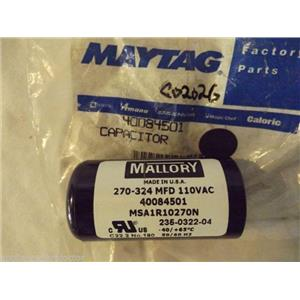AMANA SPEED QUEEN WASHER 40084501 Capacitor NEW IN BAG
