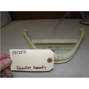 FISHER PAYKAL TOP LOAD ELECTRIC DRYER 395250 BRACKET USED PART ASSEMBLY