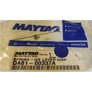 MAYTAG SAMSUNG REFRIGERATOR DA61-00337A lever spring   NEW IN BAG