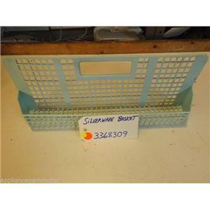 DISHWASHER 3368309 SILVERWARE BASKET used
