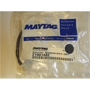 Maytag Admiral Washer  21001482  Switch, Momentary (wht) NEW IN BOX