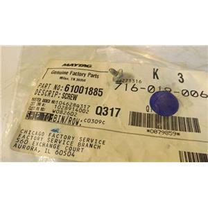 MAYTAG WHIRLPOOL AMANA REFRIGERATOR 61001885 Screw, 8-32 x 5/16 NEW IN BAG