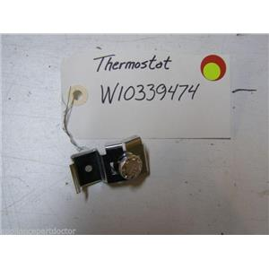 WHIRLPOOL DISHWASHER W10339474 THERMOSTAT USED PART ASSEMBLY