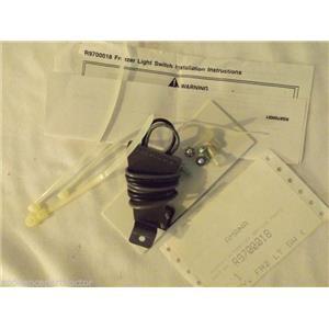 AMANA REFRIGERATOR R9700018 FREEZER LIGHT SWITCH   NEW IN BOX