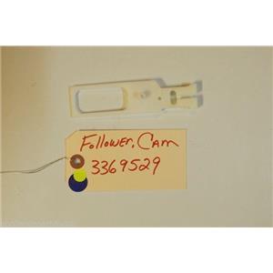 WHIRLPOOL DISHWASHER 3369529 Follower, Cam  USED PART