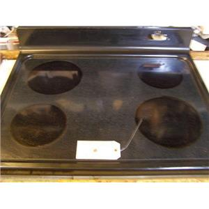 HOTPOINT STOVE WB62X10020  Rangetop & Glass used