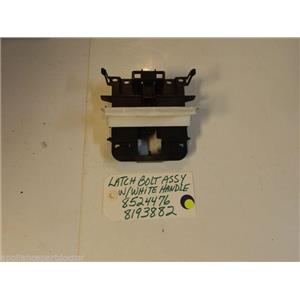 Kenmore DISHWASHER 8524476  8193882  Latch Bolt Assy W/White Handle used