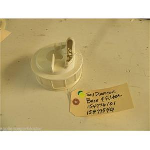 WHITE DISHWASHER 154776101 154252201 154775401 154252301 SOIL DIRECTOR BASE