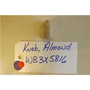 GE STOVE WB3X5816  Knob Almond  USED PART