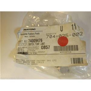 Maytag Jenn Air Gas Stove  74009476  Switch, Temp. Limit   NEW IN BOX